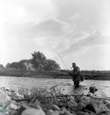 Fishing, River Swale, Langton